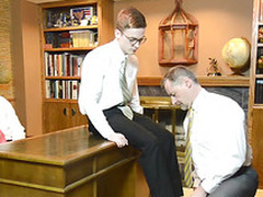 Canon mormon elder shaves elders cock for leman