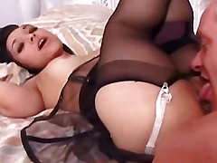 Mature man fucks Bridget Miniature